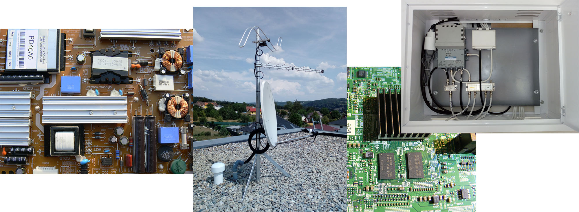 oprava servis anten satelitu tv